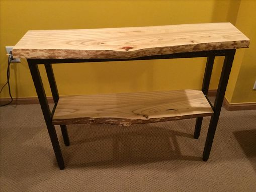 Custom Made Catalpa Wood Sofa Table