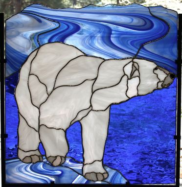 Custom Made Polar Bear Seeking Ice