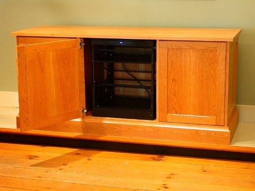 Custom Made Traditional Tv Console