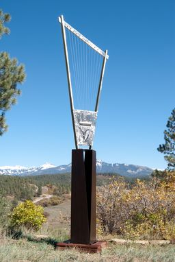 Custom Made Outdoor Metal Sound Sculpture-Custom Made