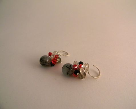 Custom Made Handmade Cluster Earrings