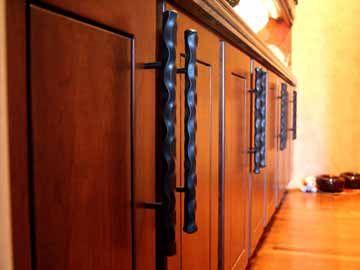 Miraculous Handmade Hand Forged Kitchen Cabinet Hardware By David Interior Design Ideas Lukepblogthenellocom