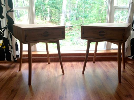 Custom Made Mack & Lake Mid Century Type Side Tables