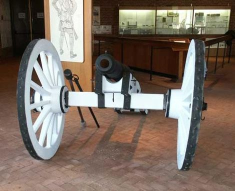 Custom Made Cannon Carrige Restoration