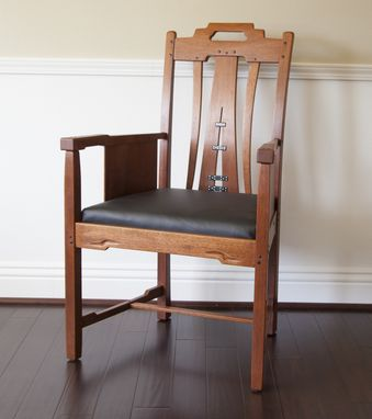 Custom Made Gamble House Living Room Arm Chair
