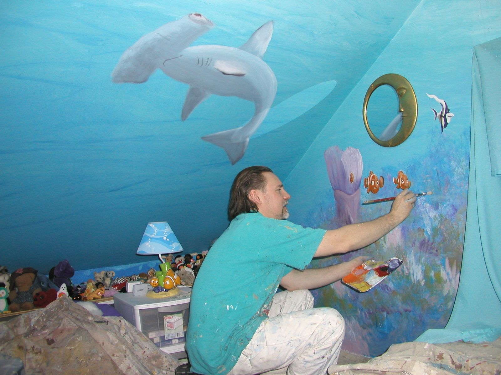 Hand Crafted A Kids Room Mural By Bogue Art Studios
