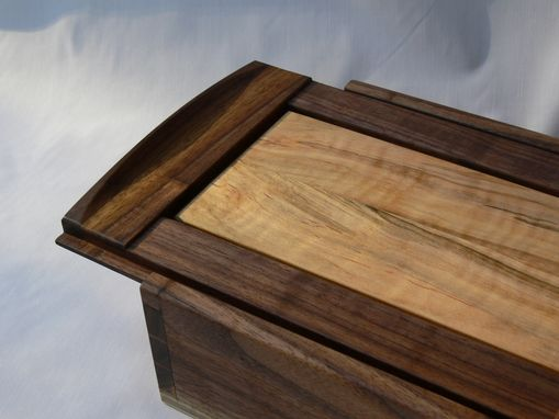 Custom Made Dovetailed Walnut Box