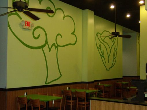 Custom Made Logo, Wall Decoration For A Restaurant