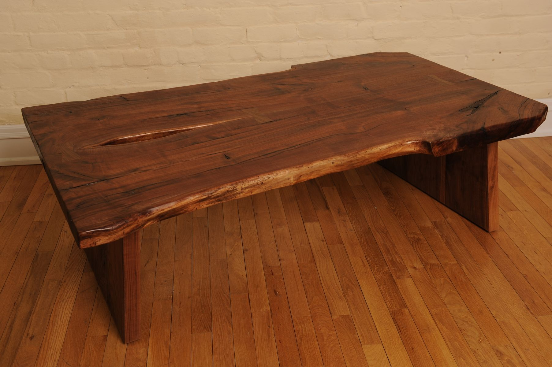 hand crafted nakashima styled coffee table by schmitt custom
