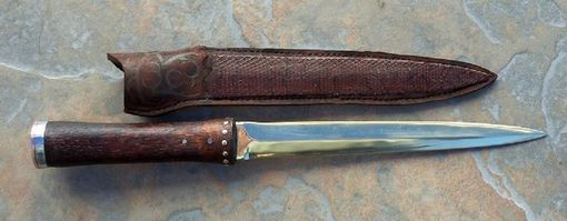 Custom Made Brass Dagger