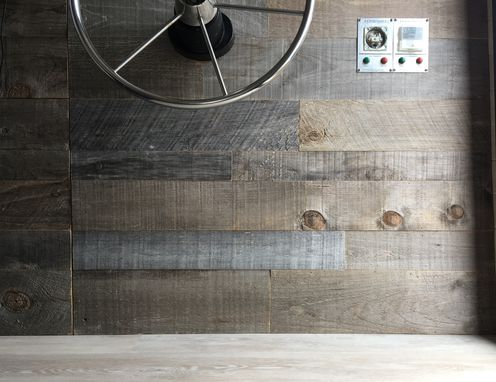Custom Made Gray Wall Paneling - Wall Plank