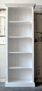Custom Made Wood Bookcases/ Wall Units