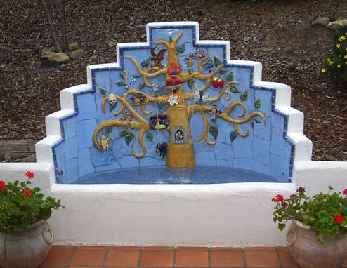 Custom Made Tree Of Life Fountain