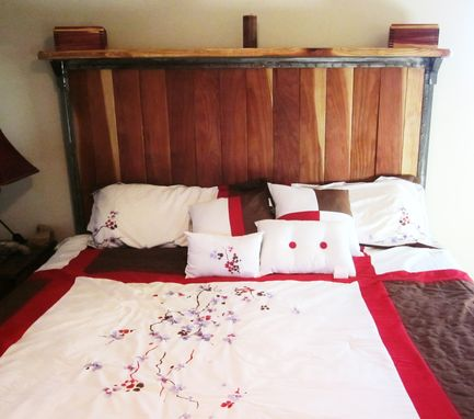 Hand Made Custom King Size Bed Welded Steel Frame With