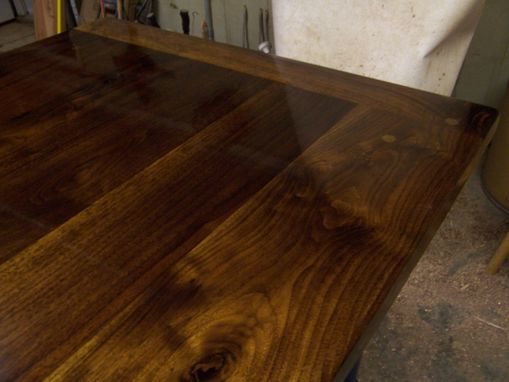 Custom Made Walnut & Maple Dining Table