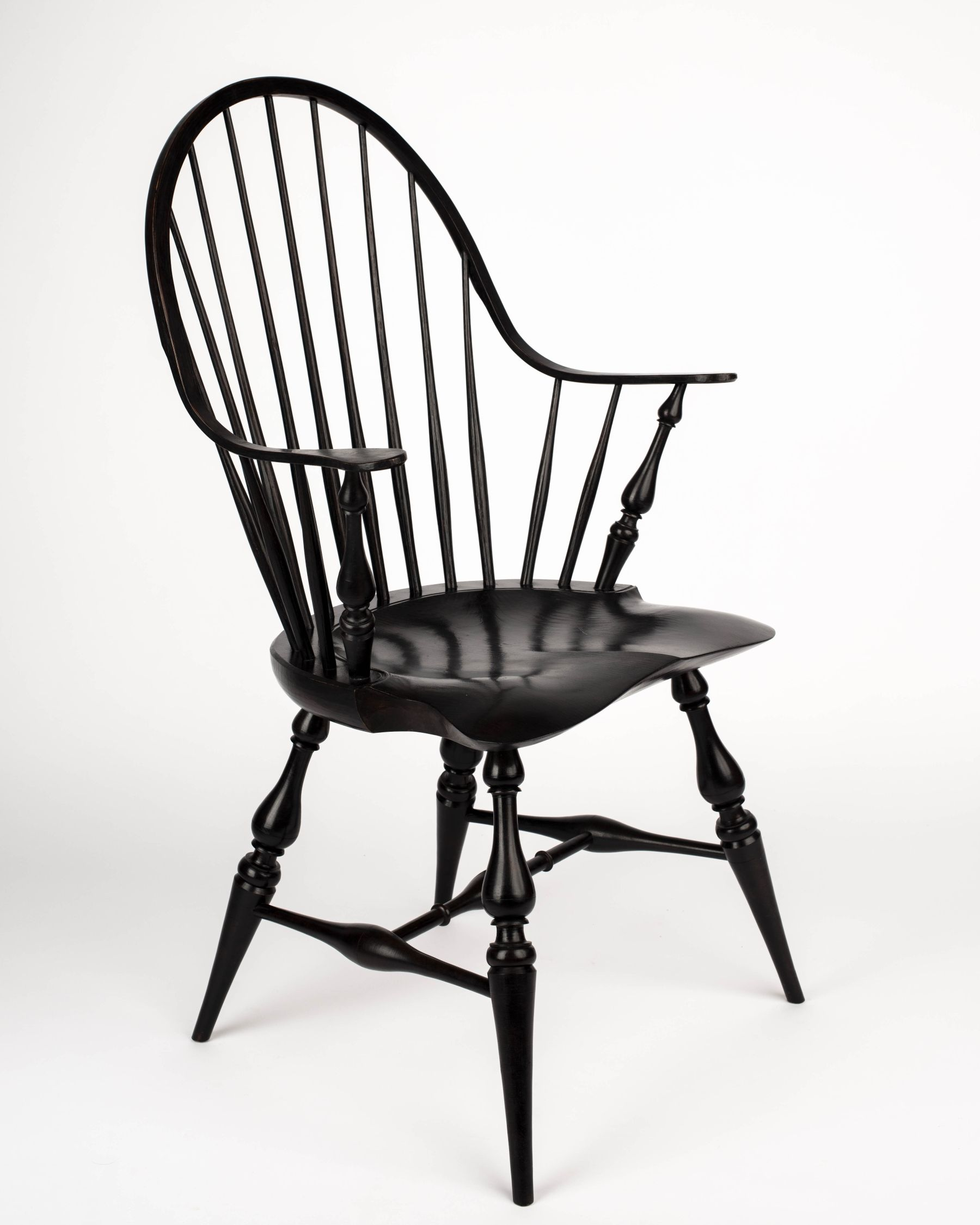 Fine Buy A Custom Continuous Arm Windsor Chair Made To Order Ibusinesslaw Wood Chair Design Ideas Ibusinesslaworg