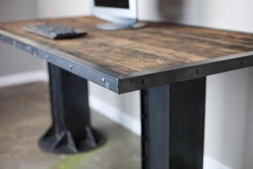 Custom Made Modern/Industrial Desk. Vintage/Modern Custom Sizes & Configurations Dining Table Executive