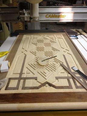 Handmade Inlay Coffiee Table By Raw Creations Cnc