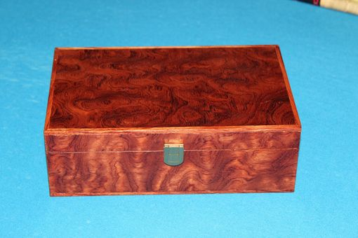 Custom Made Bubinga Veneered Play Station Box