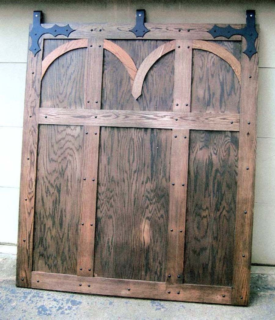hand made medieval interior barn door by rocky mountain. Black Bedroom Furniture Sets. Home Design Ideas