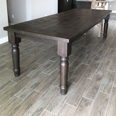 Custom Made Rustic Farmhouse Dining Table, Coffee Table, Center Island, Side Table, Entryway Sofa Table
