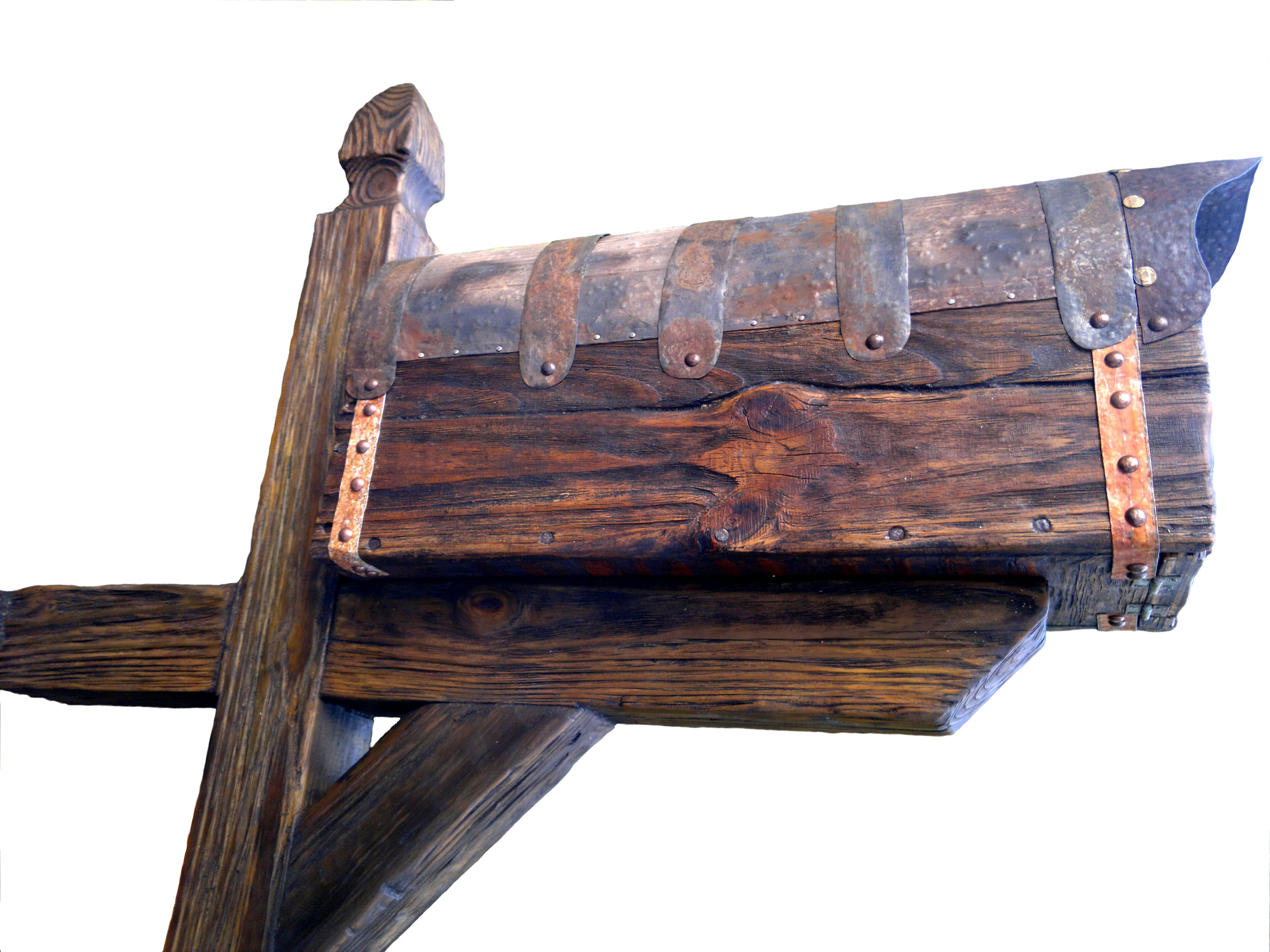 Buy A Custom Rustic Mailbox With Post Made To Order From