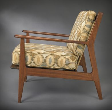 Custom Made Draper Lounge Chair