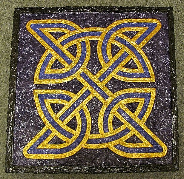 Hand Made Celtic Knot 3d Wall Art by 3D Photo Framing & Design ...
