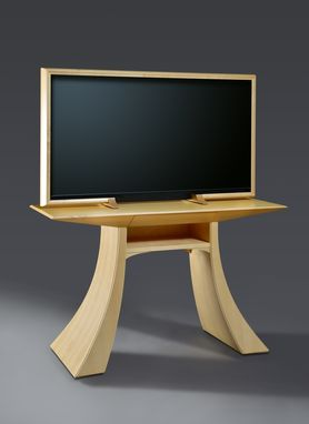 Custom Made Maple Tv Stand