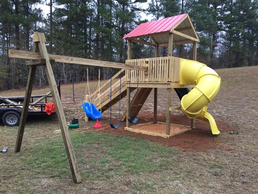 Custom Made Swing Set