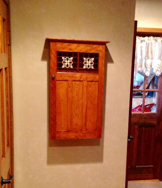 Custom Made Hand Made Kumiko Wall Cabinet