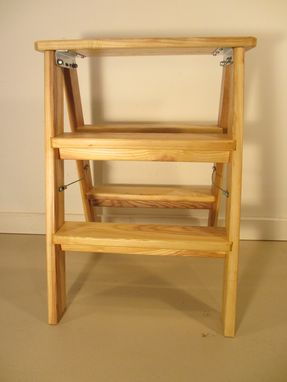 Custom Made Modern Step Stool