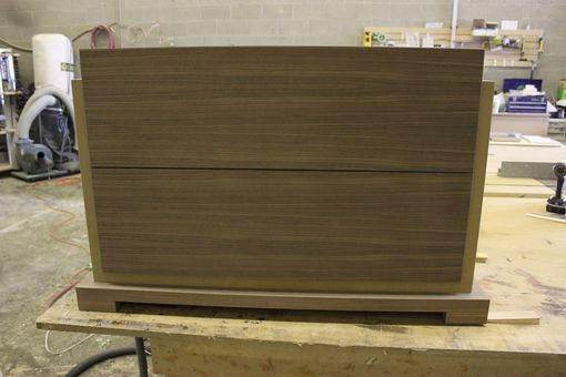 Custom Made Mitred Walnut Dresser