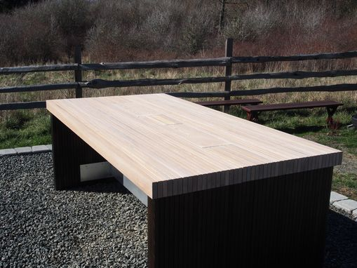Custom Made Black Locust Dining Table