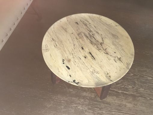 Custom Made Spalted Pecan Entry Table