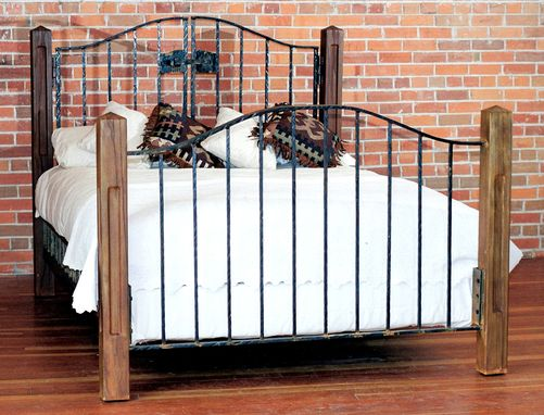 Custom Made Country Estates Iron Gate Bed