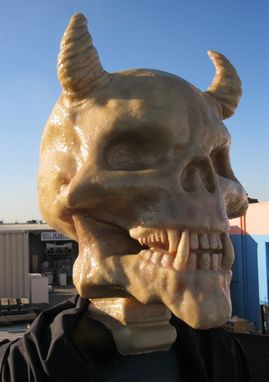 Custom Made Skull Head Prop