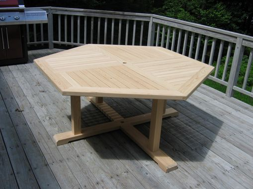 Custom Made No Maintenance Outdoor Table