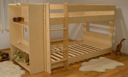 Custom Made Bunk Bed (Mid) With Shelves
