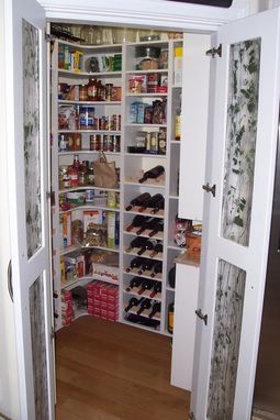 Custom Made Kitchen Pantry