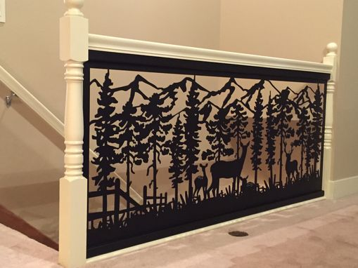 Custom Made Railing Art With Custom Installation Design