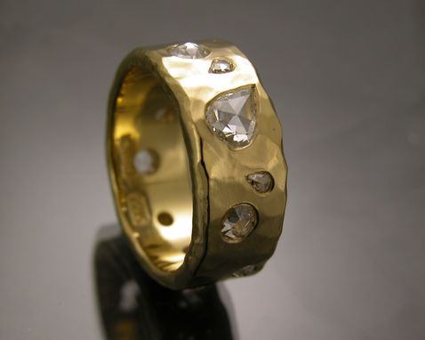 Custom Made 22 K Yellow Gold Ring