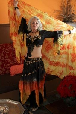 Custom Made Silk Custom Dance Costume Of Your Dreams Hand Dyed In You Colors And In Your Size