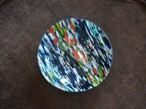 Custom Made Fused Glass Bowl