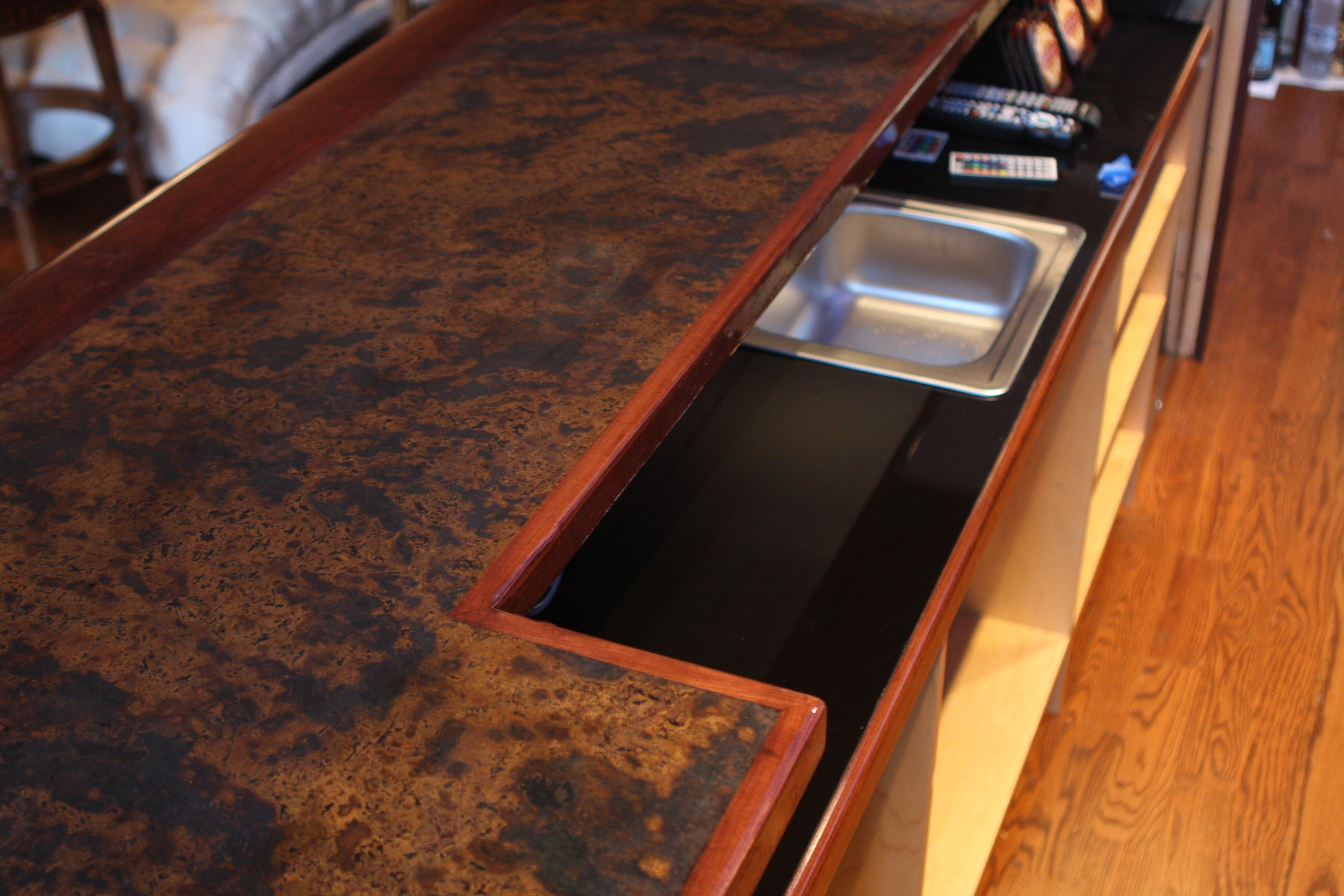 and plus pros countertops installed of countertop copper cons tops cost