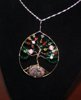 Custom Made Tree Of Life Memorial Pendant