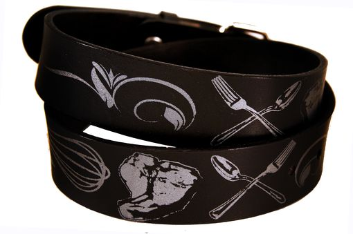 Custom Made Chef Inspired Leather Belt