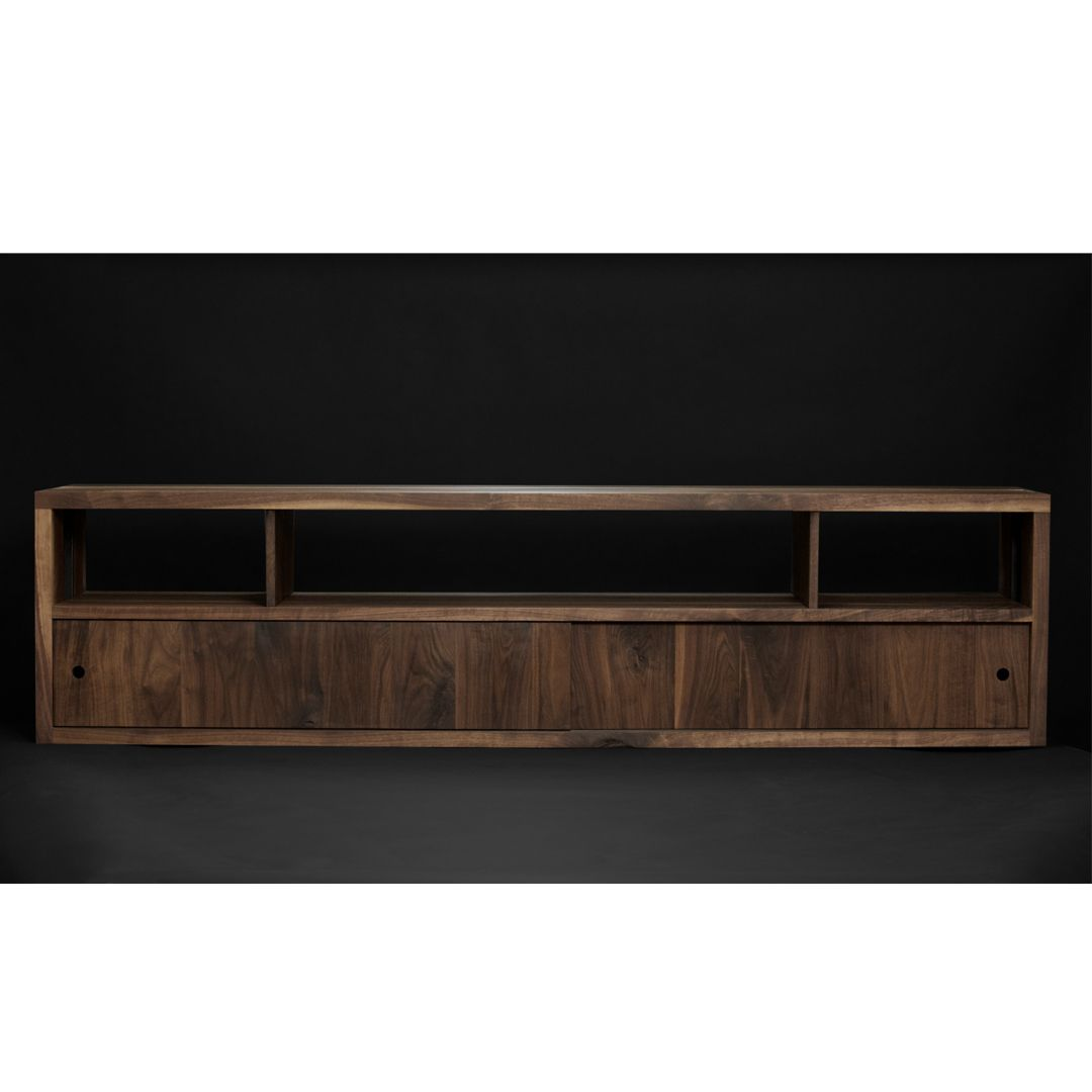 Steel Media Console By Surfridge