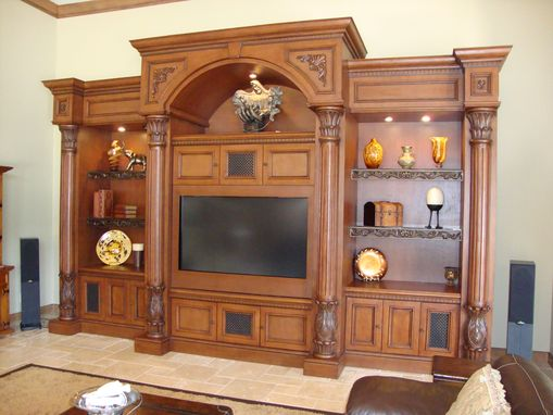 Custom Made Wall Unit 6