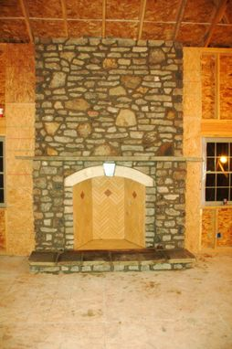 "Custom Made 48"" Rumford Fireplace In Hermann Mo"